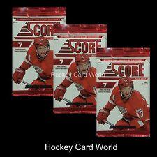 (HCW) 2012-13 Panini Score Hockey Hobby Pack x3 Lot - Krug, Stone, Kreider, ++