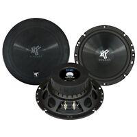 Hifonics TS-6.2W 16cm Tiefmitteltöner 200 Watt TITAN Kickbass Woofer-Set 1 Paar