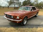 1966 Ford Mustang  1966 Ford Mustang  50186 Miles Emberglo Metallic Coupe 289 V8 3-Speed Automatic