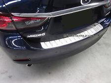 Stainless Steel Rear Boot Bumper Panel Protector for Mazda 6 Sedan Atenza GJ
