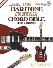 BARITONE GUITAR CHORD BIBLE - 1,728 CHORDS (NEW 2016 EDITION) - LOW B TUNING