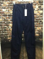 NEW Vince Womens Navy Blue Cotton Pant Size 25 NWT