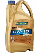 RAVENOL SSL 0W40 Motor Oil 5L   BMW LL-01,MB 229.5,Porsche A40,VW 502 00/505 00