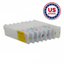 Usa 8pcs 400ml Refilling Cartridge with 4 Funnels for Epson Stylus Pro 7800 9800