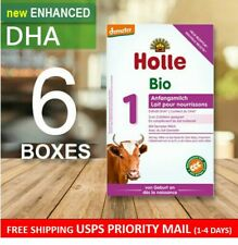 Holle Bio Stage 1 W/ Dha (0-6 months) 6 Boxes - Organic Infant Formula - 400g