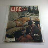 VTG Life Magazine: February 28 1964 - Cyprus: Turks With Shotguns Guard A Road
