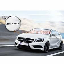 AMG Front Car Window Foldable Sun Shade Shield Visor Dupont UV Block For Benz