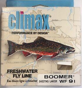Climax Boomer WF9 I  Intermediate Sinking 30 yard Fly Line