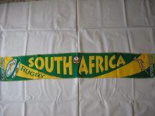 d12 sciarpa rugby SOUTH AFRICA springboks nazionale federation scarf bufanda