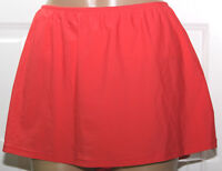 NWT Island Escape Coral Swim Skirtini Skirted Bottom 16W 18W 20W 22W 24W Plus