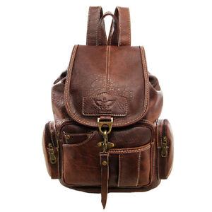 Womens Girls Leather Backpack Shoulder School Shoulder Satchel HandBag Travel