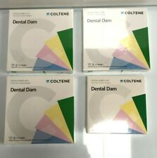 2x COLTENE DENTAL DAM NATURAL RUBBER LATEX (Different Sets)