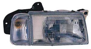 Headlight Combination Assembly Right Maxzone 332-1168R-ASC