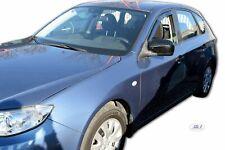 Set 4 Déflecteurs de vent pluie air teintées pour Subaru Impreza GH depuis 2008
