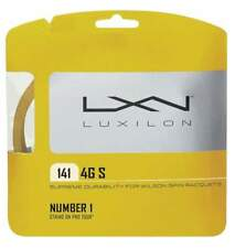 New Luxilon 4G S 15 (1.41) Tennis String Set Gold Pack