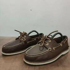 Timberland Brown Leather Topsiders Shoes