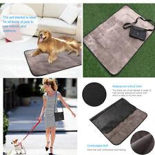 Waterproof Pet Blanket Collapsible Pets Plush Mat Outdoor for Dog Puppy Cat Kitt