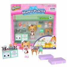 New Shopkins Happy Places KITTY KITCHEN Welcome Pack Playset Official