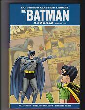 DC CLASSICS LIBRARY THE BATMAN ANNUALS VOLUME 2 HARDCOVER HC