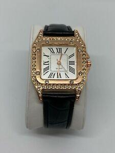 Luxury Watch for Women Starry Luxury Bracelet Set Leather Band Quartz Bracelet