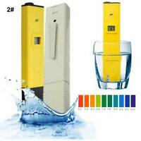 LCD Digital TDS/EC/PH Meter Tester Filter Pen Stick Water Quality Purity Monitor