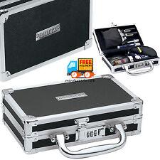 Medicine Case Locking Utility Box Combination Lock Chrome Steel Security Storage