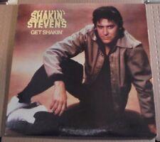 "Shakin Stevens Get Shakin 12"" Vinyl Record VG++ 1981 FE 37415 PROMO MARIE MARIE"