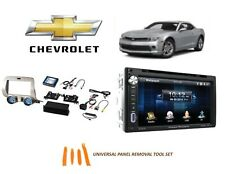 Fits Chevrolet Camaro 2010-2015 DOUBLE DIN CAR STEREO KIT TOUCHSCREEN BLUETOOTH