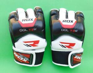 RDX MMA Kampfsport Sparring Freefight Sandsack Rindsleder Handschuhe Gr. L