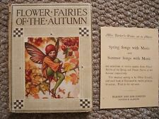 FLOWER FAIRIES OF THE AUTUMN By CICELY MARY BARKER.1926 [SEE PAGE INSERT]
