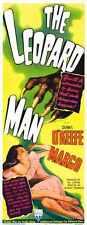 Leopard Man Poster 02 Metal Sign A4 12x8 Aluminium