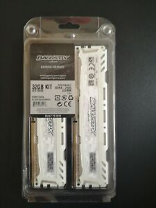 Micron Ballistix Sport - 32GB RAM - great condition, barely used