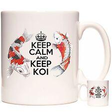KOI CARP MUG, Keep Calm and Keep Koi. The perfect mug for Koi Carp owners