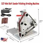 DIY Mini Belt Sander Knife Apex Edge Sharpener Polishing Grinding Machine 110V