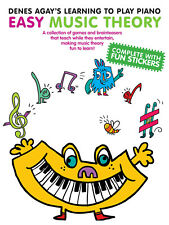 Denes Agay Learning To Play Piano Easy Music Theory for Kids Lessons Book