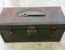 Vintage Master Metal Products Buffalo N.Y. STEEL BOX tool tackle metal