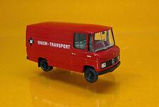 """Brekina 36841 Mercedes Benz  L 406 D Kasten """" Union Transport """""""