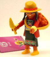 INDIANERIN INDIO FRAU Playmobil FIGURES 11 GIRLS 9147 zu Peru Inka Hut Amerika