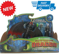 New action figure toy how to train your dragon grimmel & deathgripper new (17