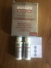 Bosley Hair Regrowth Treatment Minoxidil Solution 5% for Men 2x2oz exp 01/2021