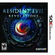 Resident Evil: Revelations (Nintendo 3DS, NTSC Capcom Action Video Game) NEW