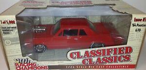"1:24 ""Racing Champions"" 1964 Pontiac GTO ""Pro Street"" 1 of 5000"