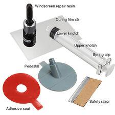 Set of Windscreen Windshield Repair Tool DIY Car Wind Glass For Chip & Crack EJ