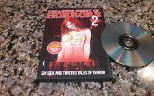 TREASURE CHEST OF HORRORS 2 RARE DVD! WILD EYE 2013SIX TWISTED HORROR SHORTS!