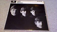 THE BEATLES With The Beatles 2nd Press Parlophone Co Mono UK LP 1963 PMC 1206