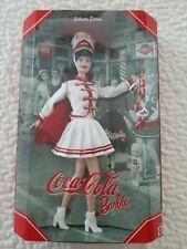 Coca-Cola® #5 Barbie® 2001 Majorette Doll Collector Edition 53974 Mib Nfrb