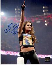 Trish Stratus WWE Wrestling Superstar Autographed Signed Photoshoot 8x10 Photo
