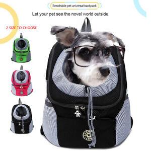 Pet Dog Puppy Carrier Front Mesh Backpack Outdoor Travel Portable Shoulder Bag