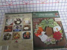 Donna Dewberry Door Wreaths for all Seasons Plaid Folk Art  Pattern Book # 9815