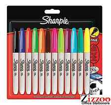 SHARPIE MARCATORE SHARPIE-permanente belle punto Pacco di 12-assortiti - 5000 + venduto!